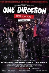 Carátula de 'One Direction: Where We Are - The Concert Film'