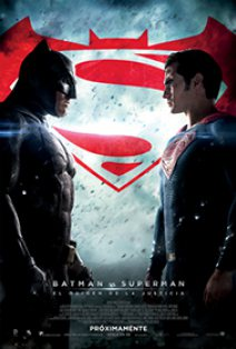 Poster de la película 'Batman vs Superman'