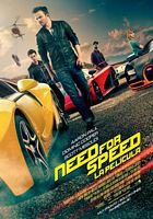 Carátula de la película 'Need for speed'